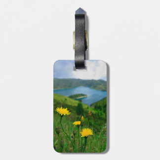 Caldera lake in Azores islands Luggage Tags