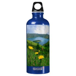 Caldera lake in Azores islands SIGG Traveller 0.6L Water Bottle