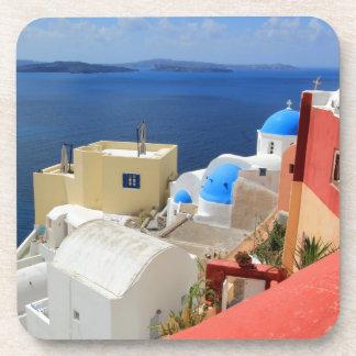 Caldera, Oia, Santorini, Greece Coaster