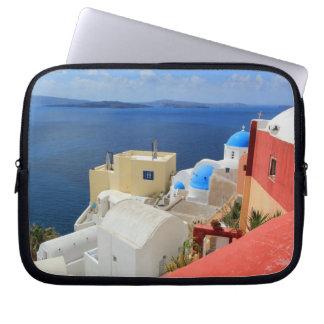 Caldera, Oia, Santorini, Greece Computer Sleeves