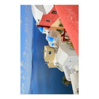 Caldera, Oia, Santorini, Greece Customised Stationery