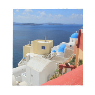 Caldera, Oia, Santorini, Greece Memo Note Pads