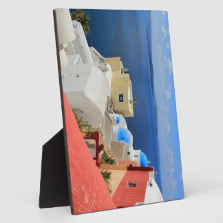 Caldera, Oia, Santorini, Greece Photo Plaques