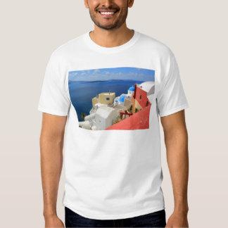 Caldera, Oia, Santorini, Greece T-shirt