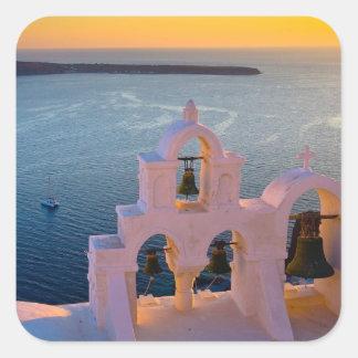 Caldera Santorini Island Greece Stickers