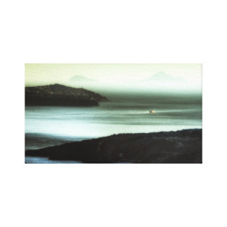 Caldera Sunset, Santorini Canvas Prints