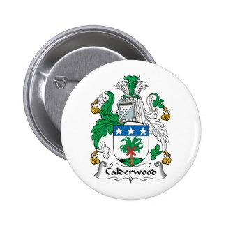 Calderwood Family Crest 6 Cm Round Badge