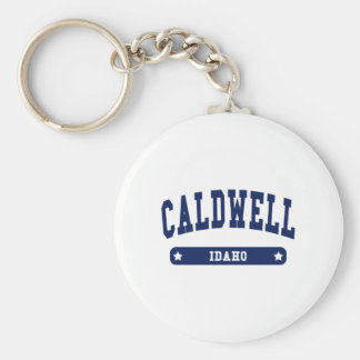 Caldwell Idaho College Style t shirts Key Ring