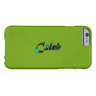 Caleb Light Green iPhone 6 case Barely There iPhone 6 Case