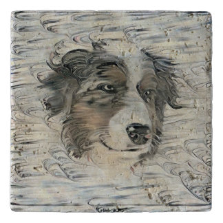 """Caleb"" Travertine Trivet and Tile"