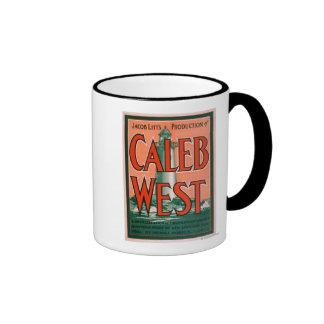 """Caleb West"" Lighthouse New England Sea Folk Coffee Mugs"