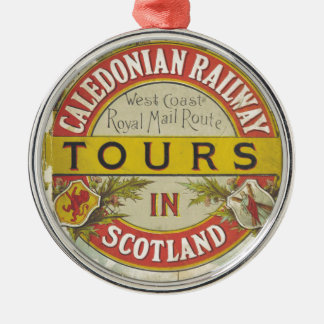 Caledonian Railway. Tours in Scotland. Christmas Ornament