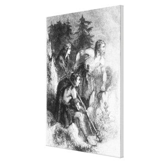 Caledonians, or Picts Canvas Print