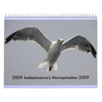Calendar, 2009 Isabelmarco Wall Calendar