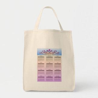 Calendar 2011 Bag Grocery Tote Bag