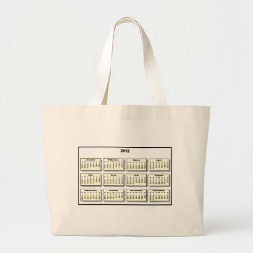 Calendar 2012 The MUSEUM Zazzle Gifts Tote Bag