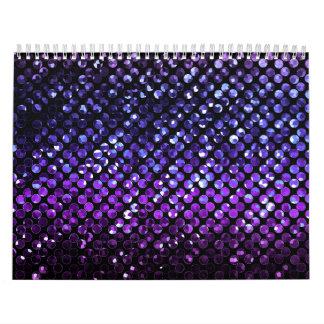 Calendar 2015 Purple Crystal Bling Strass