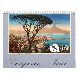 Calendar Campania - Italia