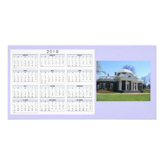 Calendar Monticello Customised Photo Card