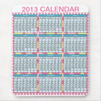 Calendar on a Mousepad