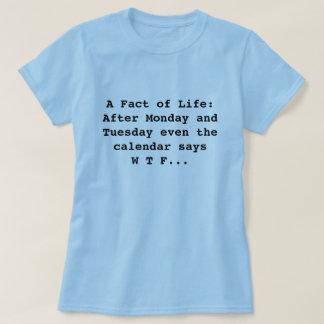 Calendar says WTF T-Shirt