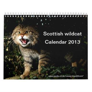 Calendar - Scottish wildcat