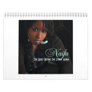 Calendar 'The Quiet Before The Storm' Album