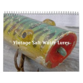 Calendar - Vintage Salt Water Lures
