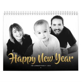 Calendars 2018 Family Photo Happy New Year