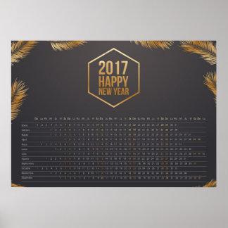 calendars calendar 2017 poster