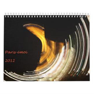 Calendrier Paris-émoi 2012 Wall Calendars