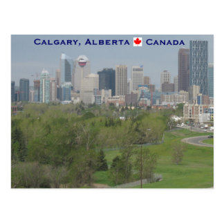 Calgary Alberta Canada Postcard