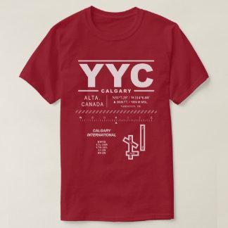 Calgary International Airport YYC T-Shirt