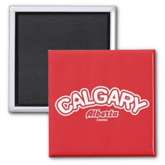 Calgary Leaf Magnet