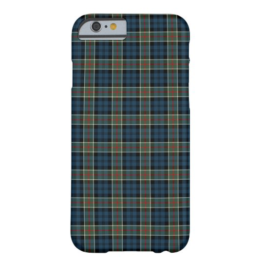 Calhoun Clan Navy Blue, Green, and Red Tartan