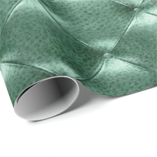 Cali Grass Green Luxury Opulent Tufted Leather VIP