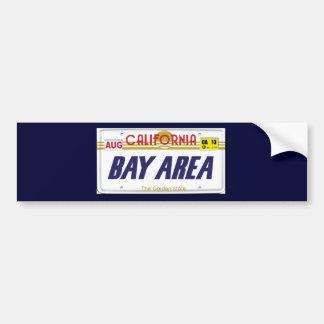 Cali License Plates Bumper Sticker
