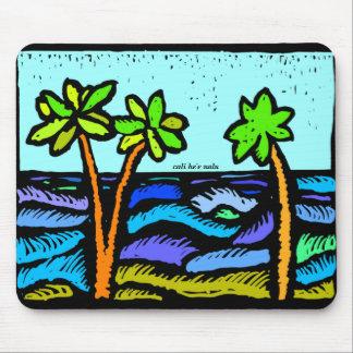 Cali Ocean mousepad