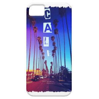 Cali Palm Trees ( red & blue) iPhone 5 Covers