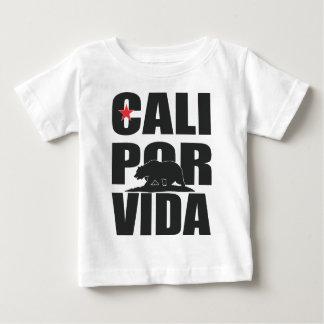 Cali Por Vida! (California For Life!) Baby T-Shirt