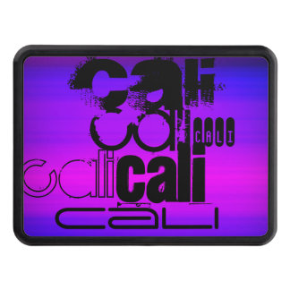 Cali; Vibrant Violet Blue and Magenta Trailer Hitch Covers