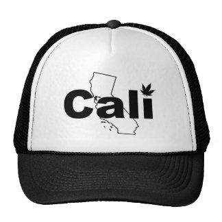 Cali Weed Leaf Hat