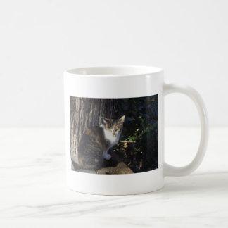 Calico Basic White Mug