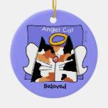 Calico Cat Angel Personalise