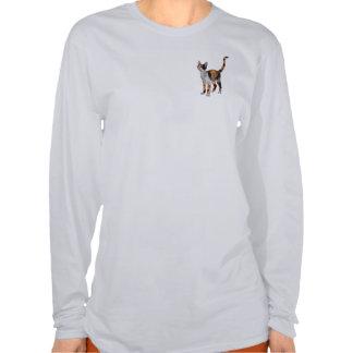 CALICO CAT Art T Shirts