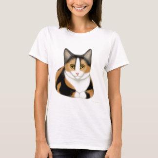 Calico Cat Babydoll Shirt