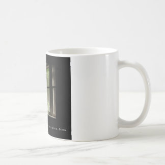 Calico Cat & Buddha Quote Coffee Mug