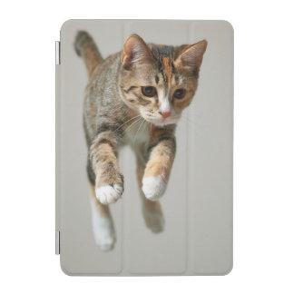 Calico Cat Jumping iPad Mini Cover