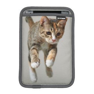 Calico Cat Jumping iPad Mini Sleeve