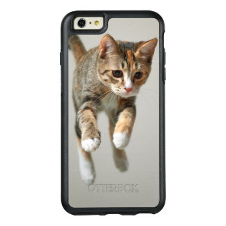 Calico Cat Jumping OtterBox iPhone 6/6s Plus Case